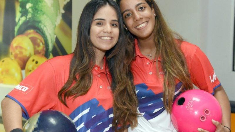 Rojas y Hermón ganan oro en juvenil femenino de boliche en SBC