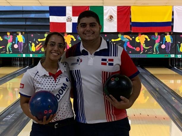 Martín Arbaje y Carmina Hermón ganan medallas de oro en Open Juvenil